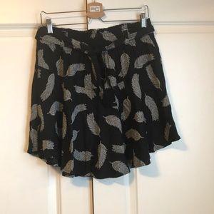 Dresses & Skirts - Skirt, navy Blue, light material